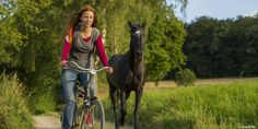 Ostwind and Mika have found a real home at the farm Kaltenbach with Mika's grandmother. Brad Pitt, Hanna Binke, Horse Hair Braiding, Constantin Film, Horse Dance, Riding Stables, Films Cinema, Black Stallion, Two Horses
