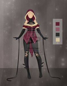 Adoptable outfit 3 OPEN by Antigonia on DeviantArt
