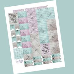Dragonflies Planner Stickers // Perfect for Erin Condren Planners