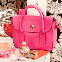 Kate Spade in pink:-)