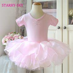 658c1d0c2ae6d Ballerine Robe Enfants 2016 Nouvelle Arrivée Enfant Filles Ballet Vêtements  Infantil Tranning De Danse Jupes Tutu