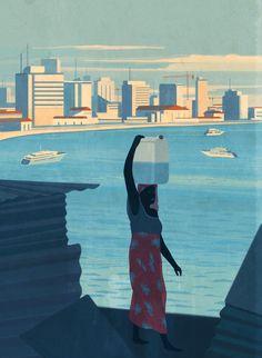 Luanda, Africa: rich vs poor• The new Yorker
