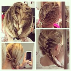 Different braids - hairstyles
