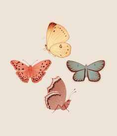 Butterfly Days by maria diamantes, via Behance