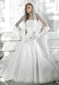 Glamorous and Fashionable Wedding Dresses by Alessandro Couture ...