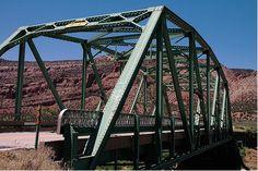 Dolores River Bridge in Montrose County, Colorado