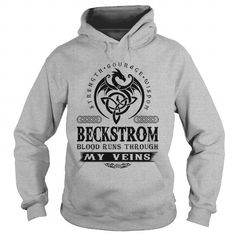 nice This guy loves his BECKSTROM t shirts