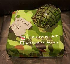 Camouflage/legertaart