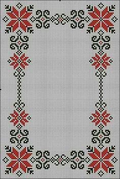 programe de broderie, motive p Cross Stitch Bookmarks, Cross Stitch Borders, Cross Stitch Rose, Cross Stitch Flowers, Cross Stitch Designs, Cross Stitching, Cross Stitch Patterns, Folk Embroidery, Cross Stitch Embroidery