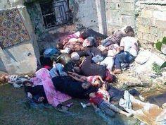 Esto sucede en Siria, donde la vida vale menos que nada y nadie absolutamente nadie hace algo por ayudar a esta gente