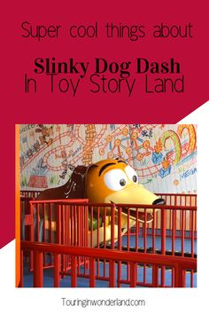 These facts and secrets of Slinky Dog Dash in Toy Story land in Hollywood Studios are awesome. Toy Story Lands headliner attractions Slinky Dog Dash is a great Disney coaster, and one you should be sure not to miss when you go on your Disney World trip. Walt Disney World Rides, Disney World Attractions, Disney World Vacation, Disney Vacations, Disney Planning, Disney World Tips And Tricks, Disney Crafts, Hollywood Studios, Disney Food