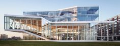 MSDL architectes completes ÉTS student center in montreal