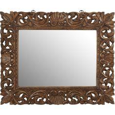World Menagerie Reclaimed Wood Wall Mirror & Reviews   Wayfair