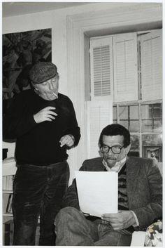 Joseph Brodsky and Derek Walcott
