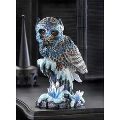 Fantasy owl figurine $29.95 plus 7% sales tax and shipping