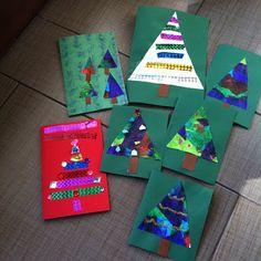 Mama Pea Pod: {Two Christmas Cards Little Kids Can Make} Do you have a hard time finding Christmas crafts that your youngest can do, too? Simple Christmas Cards, Homemade Christmas Cards, Christmas Cards To Make, Kids Christmas, Handmade Christmas, Holiday Cards, Christmas Stuff, Christmas Trees, Christmas Crafts For Toddlers