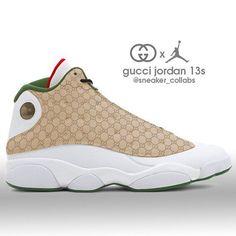 Gucci x air jordan Nike Air Jordans, Gucci Jordans, Jordan Swag, Sneakers Mode, Sneakers Fashion, Shoes Sneakers, Adidas Shoes, Women's Shoes, Jordan Shoes Girls