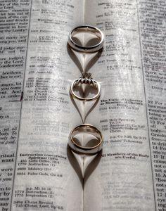 Linked Ring Weddings - Destination - Wedding - Engagement - Photos #WeddingRings #Hearts #Weddings