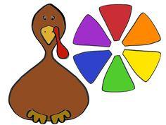 More at MommaAMommaB.com Printable Turkey, Alphabet Sounds, Cut Animals, Turkey Colors, Animal Tracks, Mini Apple, Thematic Units, Christmas Hanukkah, Teacher Binder