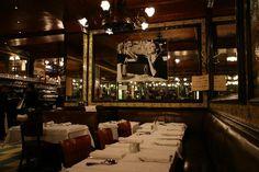 Brasserie Lip, Paris - memories of Frederique