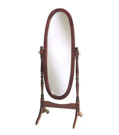 Powell Cherry Cheval Mirror - pack 1