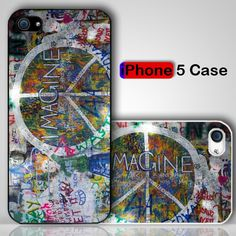 Imagine Graffiti Custom iPhone 5 Case Cover