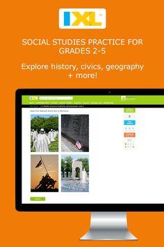 History and social studies practice – fun, interactive activities on IXL.com