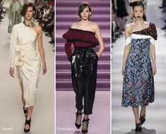 Fall/ Winter 2016-2017 Fashion Trends: Asymmetrical Shoulders