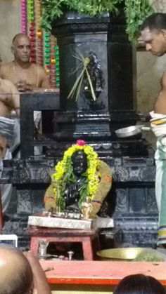 Mahaperiyava abhishekam @ Adishtanam on January 6, 2016