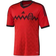 adidas MEXICO FMF AWAY JERSEY 2014 (LARGE/ADULTS, RED/BLACK) adidas http://www.amazon.com/dp/B00IIUT4WO/ref=cm_sw_r_pi_dp_KFRZtb0W7X5AK6D6
