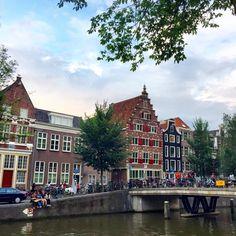 Beautiful Amsterdam #travel #europe #summer #amsterdam #wanderlust #canals Amsterdam Travel, Travel Europe, Wanderlust, Adventure, Photo And Video, Summer, Beautiful, Instagram, Summer Time