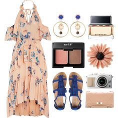 Easy Breezy: Alfresco Dining by julijana-k on Polyvore featuring Ulla Johnson, Dorothy Perkins, Roger Vivier, mae, Dolce&Gabbana, Kate Spade, Charlotte Russe and Givenchy