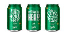 Sprite Lyrical Cans — The Dieline - Branding & Packaging Design