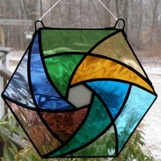Beginner Stained Glass Patterns | StainedGlass Window Hangings