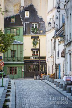 Paris Avenue Photograph by Brian Jannsen