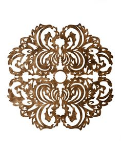 Lace Pattern Ceiling Medallion - Horchow