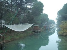 Atmosfera rilassante in pineta.  www.slowsports.it