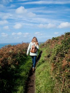 Cornwall walks with sunsets and puppies | The Cornish Life |
