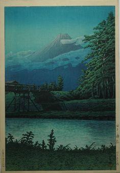 画像 : 【近世の浮世絵師・新版画家】川瀬巴水の作品 - NAVER まとめ
