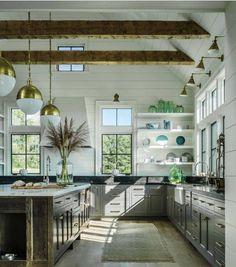 "3,567 Likes, 69 Comments - Kitchens of Instagram (@kitchens_of_insta) on Instagram: ""This Kitchen Rocks! @onekindesign @kerrykirkphoto #kitchendesign #luxurykitchen"""