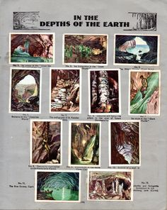NESTLE': Wonders of the World (1932 - In the Depths of the Earth)