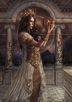 Star Kindler by Irulana, fantasy art Dark Fantasy Art, Fantasy Girl, Chica Fantasy, Fantasy Art Women, Fantasy Kunst, Fantasy Warrior, Fantasy Artwork, Fantasy Princess, Fantasy Characters