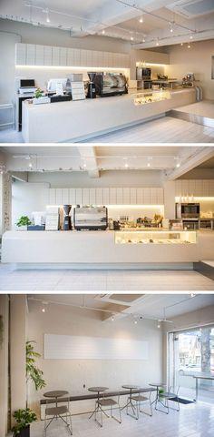 [No.175 디저트샵오] 마카롱 디저트 카페 인테리어 15평, 타일 대리석 모던
