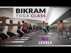 Beginners Bikram Yoga Instructional Narration - YouTube