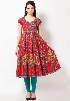 Red Kurta 2000 Rs, = 32 usd http://static4.jassets.com/p/Biba-Printed--Cotton-Red-Kurta-8290-515581-1-gallery2.jpg