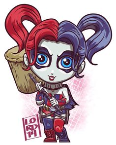 #New52  #HarleyQuinn digitaldoodle request!! #DCU