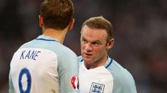 Wayne Rooney & Harry Kane