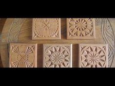 Chip carving for beginner: Easy step - YouTube