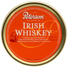 Smokingpipes is your one stop shop for Peterson Irish Whiskey Pipe Tobacco and all your tobacco smoking needs. From new tobacco pipes and estate tobacco pipes to tin pipe tobacco and bulk pipe tobacco, we have everything you need Pipes And Cigars, Cigars And Whiskey, Scotch Whiskey, Irish Whiskey, Tobacco Pipe Smoking, Tobacco Pipes, Best Cigar Prices, Peterson Pipes, Cigar Store