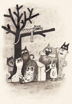 """© Delphine Durand: illustration pour """"Julie Capable"""""""